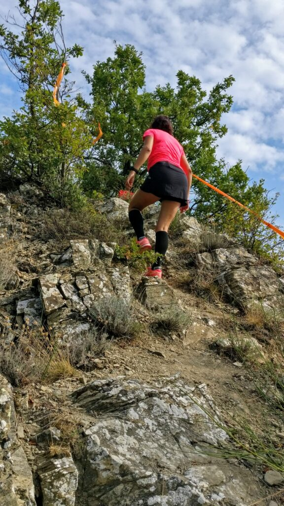 trail running sul crinale