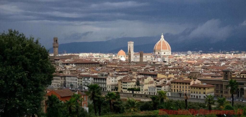 Firenze e la cupola del Duomo: vista dal piazzale
