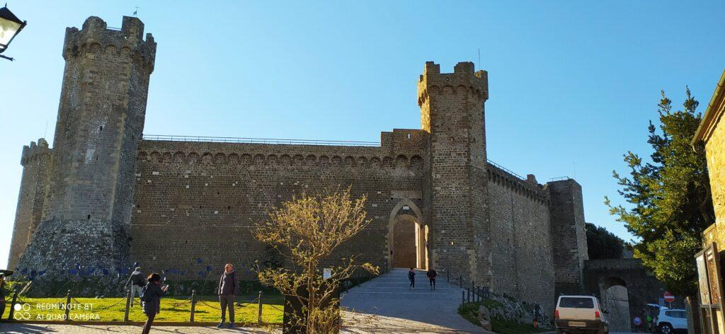 La rocca di Montalcino