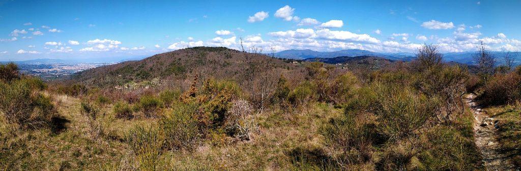 Panorama da Monte Cucco